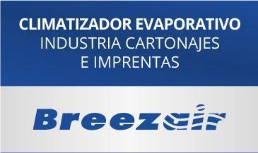 Ejemplo climatizacion evaporativa industria cartonajes imprentas