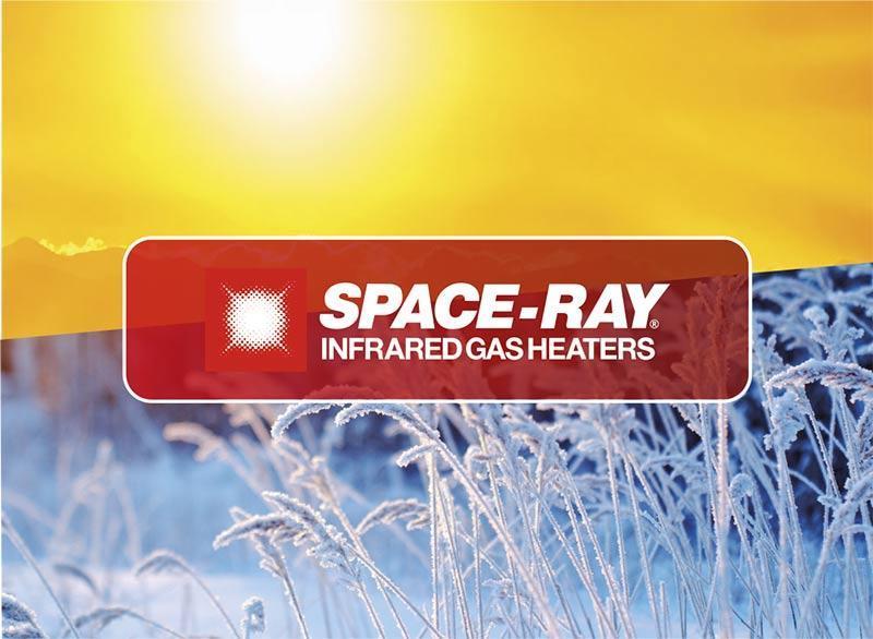 Calefacción industrial bajo consumo mediante tubo radiante a gas spaceray