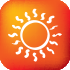 Calefacción efectos rayos del sol