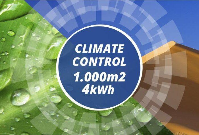 Evaporative climate control