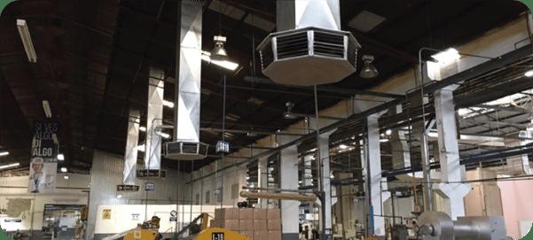 aire evaporativo industrial