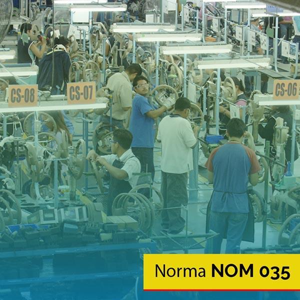 Norma NOM 035 ventilar nave industrial
