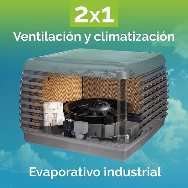 Ventilación y climatización industrial